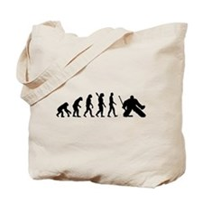 Evolution hockey goalie Tote Bag