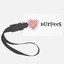 I Heart Burpees Luggage Tag
