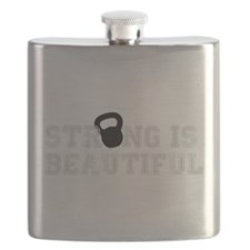 Strong is the New Skinny - Kettlebell Flask