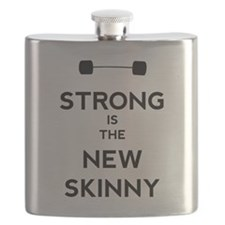 Strong is the New Skinny - Bar Flask