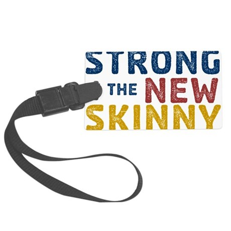 Strong is the New Skinny - Sketch Blue-Red-Orange