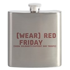 Wear Red Friday Flask