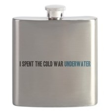 I spent the Cold War underwater Flask