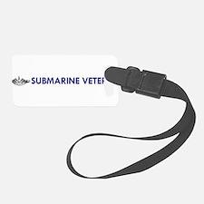 Submarine Veteran Dolphins Luggage Tag