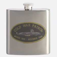 Cold War Patrol Patch Flask