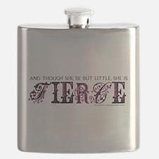 She is Fierce - Eclectic Flask
