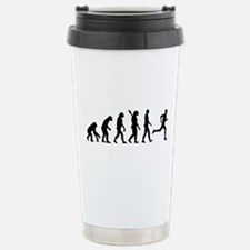 Evolution running marathon Travel Mug