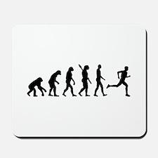 Evolution running marathon Mousepad