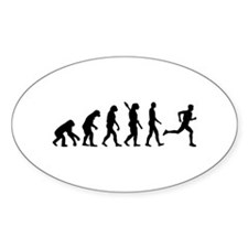 Evolution running marathon Decal