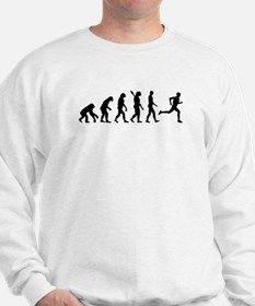 Evolution running marathon Sweatshirt