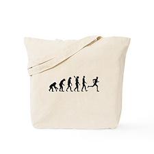 Evolution running marathon Tote Bag