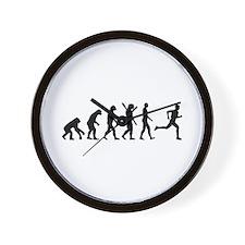 Evolution running marathon Wall Clock