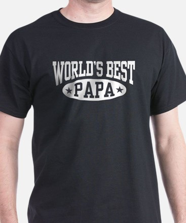 World's Best Papa T-Shirt
