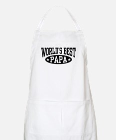 World's Best Papa Apron