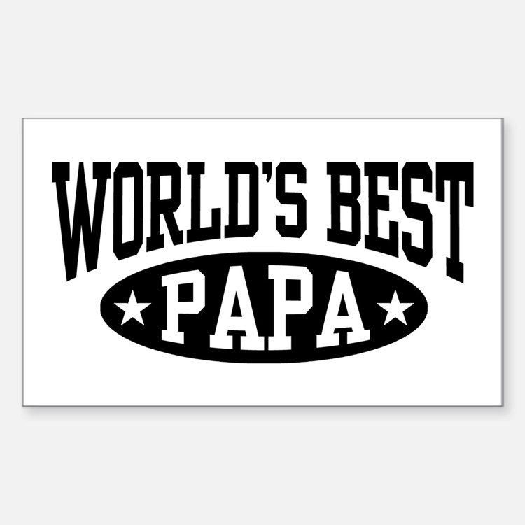 World's Best Papa Decal
