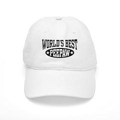 World's Best PeePaw Cap