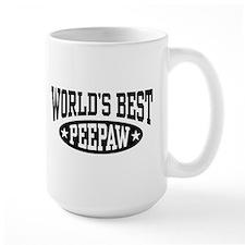 World's Best PeePaw Ceramic Mugs