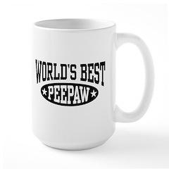 World's Best PeePaw Mug