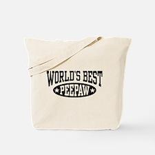 World's Best PeePaw Tote Bag