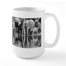 Elephant Reflections Mug