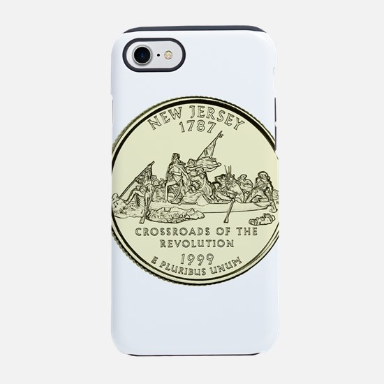 New Jersey Quarter 1999 Basic iPhone 7 Tough Case