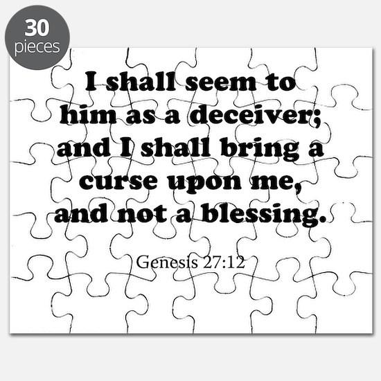 Genesis 27:12 Puzzle