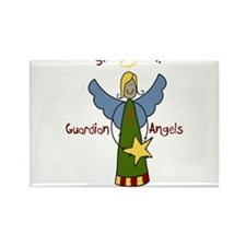 Sister Angel Rectangle Magnet