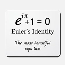 Beautiful Eulers Identity Mousepad