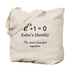 Beautiful Eulers Identity Tote Bag