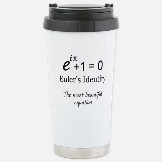 Beautiful Eulers Identity Stainless Steel Travel M