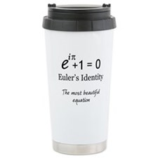 Beautiful Eulers Identity Travel Mug