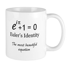 Beautiful Eulers Identity Mug