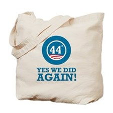 Obama Yes We Did AGAIN Tote Bag