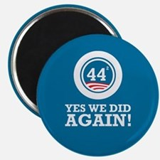 Obama Yes We Did AGAIN Magnet
