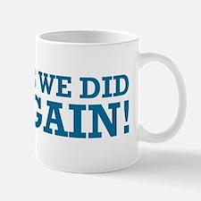 Obama Yes We Did AGAIN Mug