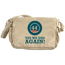 Obama Yes We Did AGAIN Messenger Bag