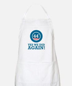 Obama Yes We Did AGAIN Apron