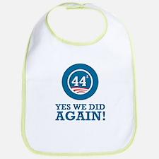 Obama Yes We Did AGAIN Bib