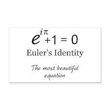 Beautiful Eulers Identity Rectangle Car Magnet
