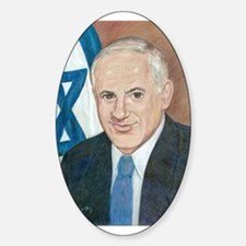 Bibi Netanyahu Sticker (Oval)