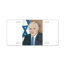 Bibi Netanyahu Aluminum License Plate