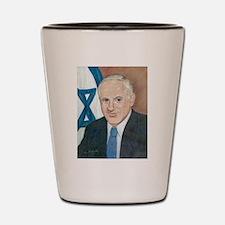 Bibi Netanyahu Shot Glass