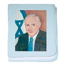 Bibi Netanyahu baby blanket