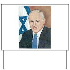 Bibi Netanyahu Yard Sign