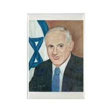 Bibi Netanyahu Rectangle Magnet