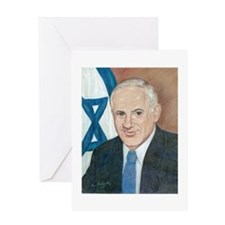 Bibi Netanyahu Greeting Card