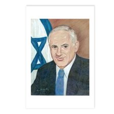 Bibi Netanyahu Postcards (Package of 8)