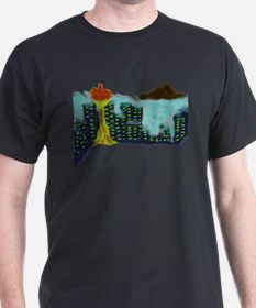 CITYMELTS Seattle Sky T-Shirt