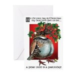 Pear Tree in a Partridge Christmas cards (Pk 20)