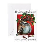Pear Tree in a Partridge Christmas card